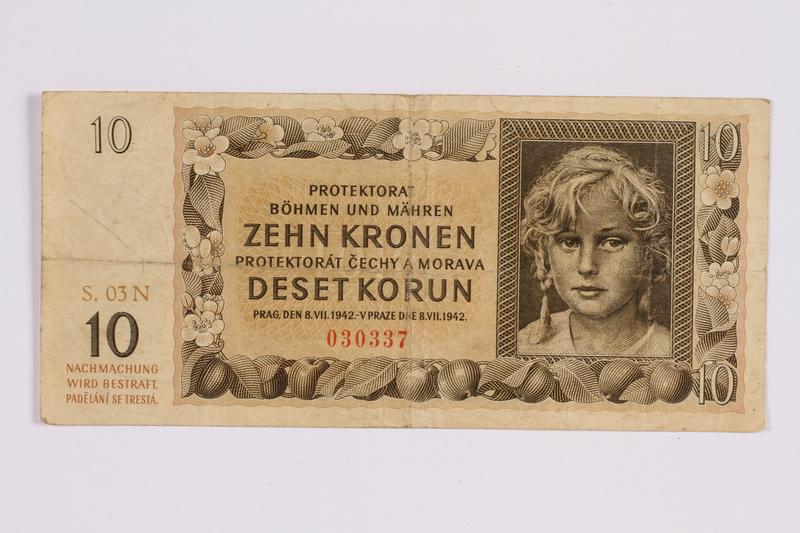 2014.480.128 front ten kronen scrip