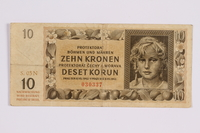 2014.480.128 front ten kronen scrip  Click to enlarge
