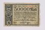 German 50000 mark scrip