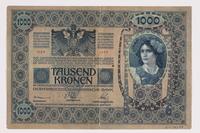 2014.480.88 back 1000 Kronen scrip  Click to enlarge