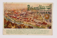 2014.480.86 front Postcard of the Pilsner Brewery in Plzen  Click to enlarge
