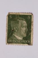 2014.480.137 front Deutsches Reich postage stamp  Click to enlarge
