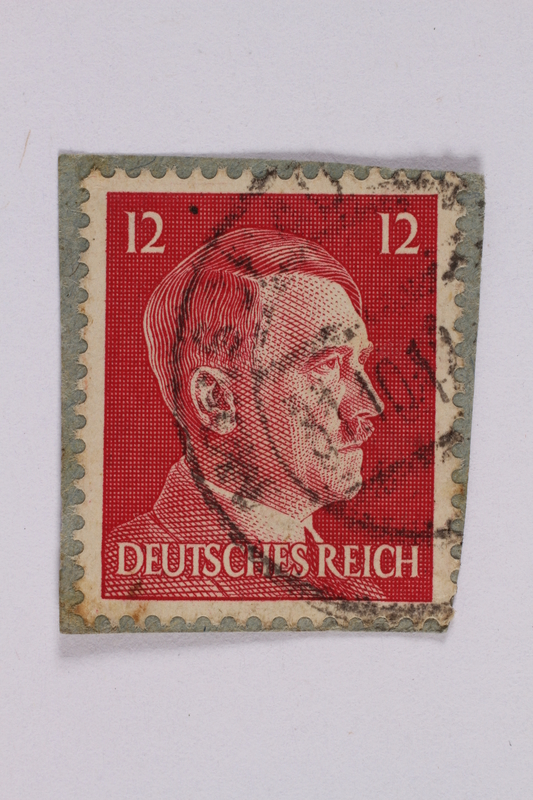 2014.480.139 front Deutsches Reich postage stamp