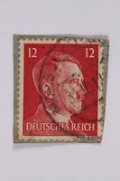 2014.480.139 front Deutsches Reich postage stamp  Click to enlarge