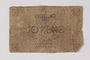 Łódź (Litzmannstadt) ghetto scrip, 50 pfennig note