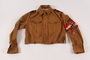 Hitler Youth jacket with insignia and armband found by a US soldier