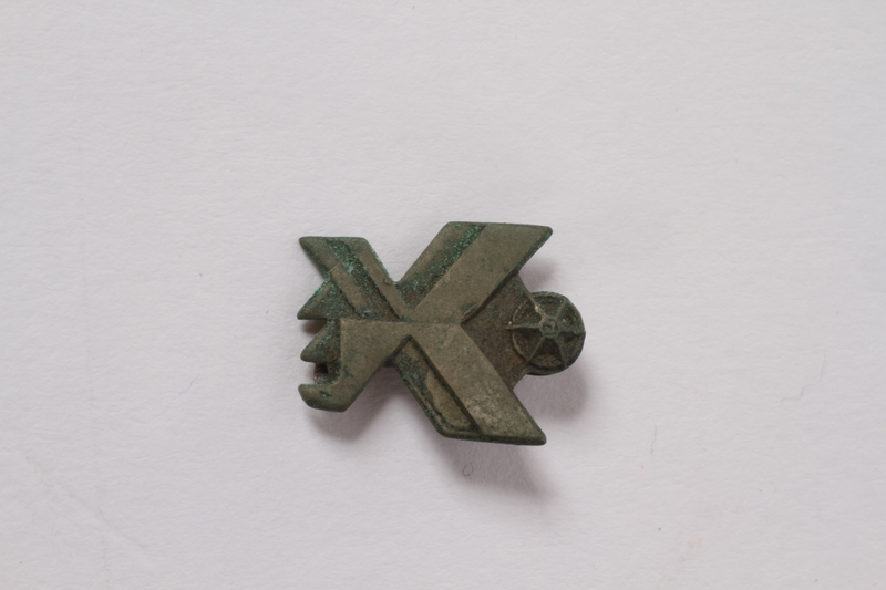 2015.162.2 front Animal shaped pin owned by a Czech Jewish concentration camp survivor