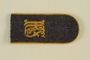 Luftwaffe KRS shoulder board with gold piping acquired by US soldier