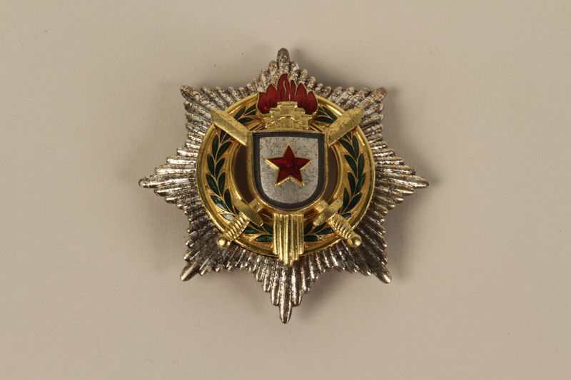 1990.118.14_a front Medal for service as a Yugoslav partisan fighter
