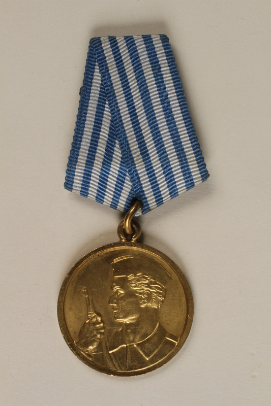 1990.118.17 front Medal for service as a Yugoslav partisan fighter