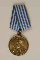 1990.118.17 front Medal for service as a Yugoslav partisan fighter  Click to enlarge
