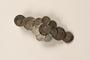Silver coin bracelet worn by a German Sinti woman
