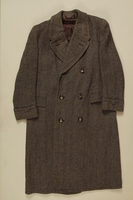 1990.121.3 front Coat worn by a German Sinti man imprisoned in several camps  Click to enlarge
