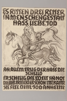 1990.125.8 front Drawing created by a Jewish artist who perished in a concentration camp  Click to enlarge