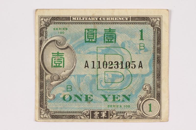 1990.16.71 front Money