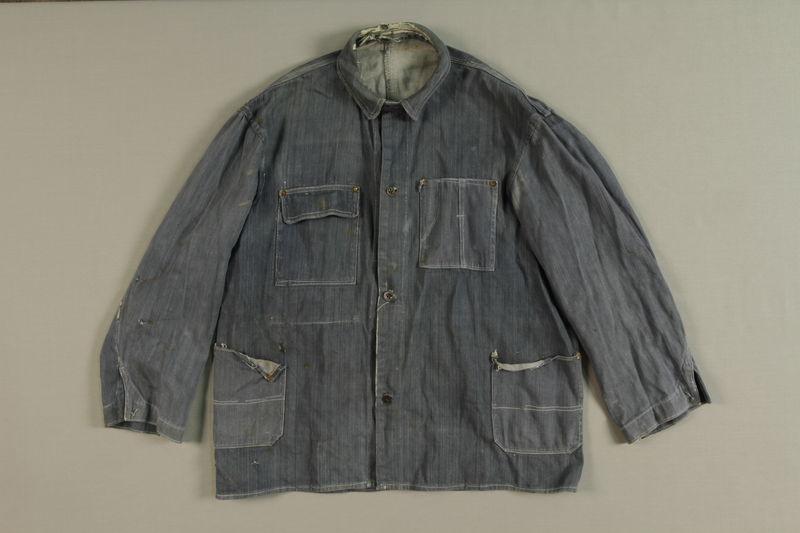 1990.189.1 front Shirt worn by slave laborer