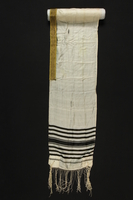1990.209.4 front Tallit  Click to enlarge