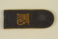 1985.1.12 front Luftwaffe KRS shoulder board with gold piping acquired by US soldier  Click to enlarge