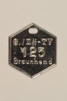 2000.267.13 front SA Braunhemd badge  Click to enlarge