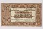 Netherlands, 1 gulden silver voucher, kept by a Dutch Jewish woman in hiding