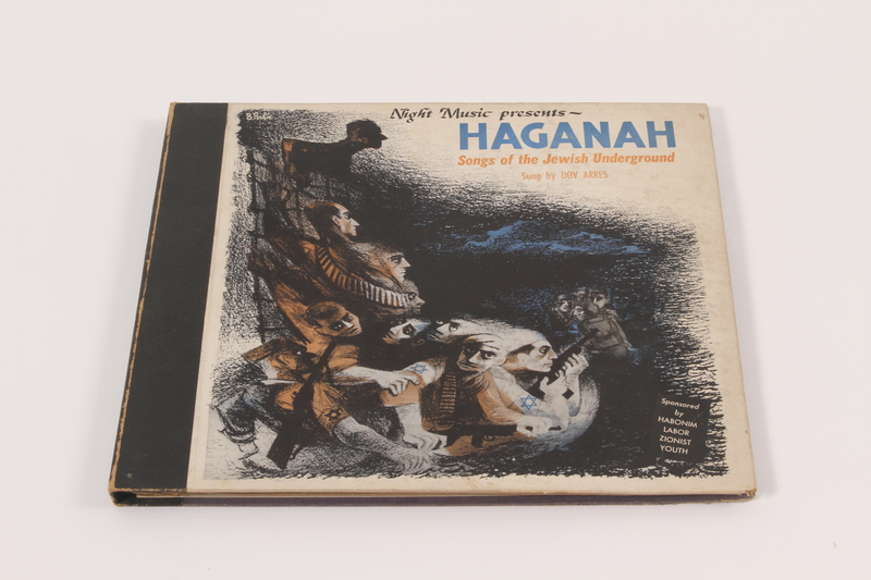 2001.360.1 a-c front Haganah: Songs of the Jewish Underground