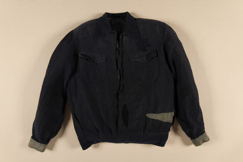 1990.235.1 front Jacket worn by Partisans in the Augustów Forest