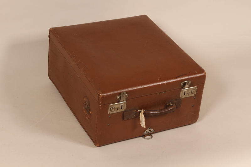1990.243.1 front Suitcase