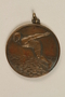 Diving medal owned by a Hungarian Jewish family