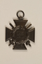 World War I Iron Cross medal awarded to a Jewish veteran for bravery