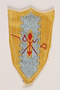 US Army 4th Cavalry Group blue and yellow coat of arms shoulder patch