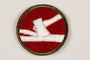 US Army 84th Infantry Division shoulder sleeve patch with an axe splitting a rail