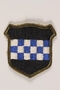 US Army 99th Infantry Division shoulder sleeve patch with a blue and white checkerboard
