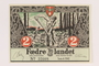 Danish occupation currency, 2 kroner