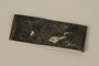Bent metal shard saved by a soldier in the Jewish Brigade, British Army