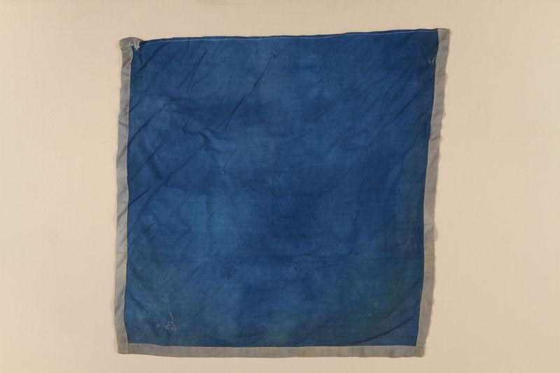 2008.142.2_b front Eclaireurs Israélites de France shirt and kerchief worn by former hidden Jewish boy