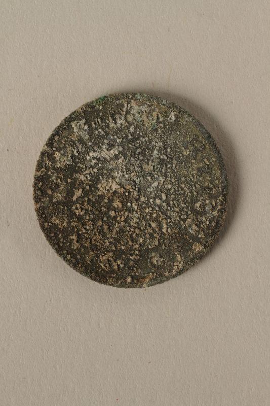 2008.201.10 front Nazi Germany, 10 reichspfennig coin
