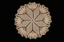 Flower patterned crocheted doily made by a Dutch Jewish woman after the war