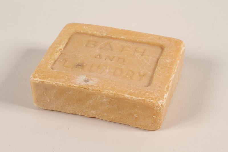2008.226.3 Soap from Bergen-Belsen concentration camp