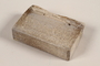 Unused brown soap bar with jagged top imprinted RIF 0367