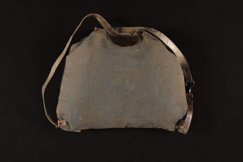 1990.307.5 back Rucksack used by a German Jewish family going into hiding