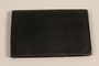 Black leather wallet used by Jewish man while living in hiding