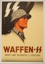 Waffen SS recruitment poster featuring a young uniformed soldier