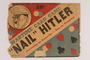 """Canadian """"Nail"""" Hitler board and card game with packaging"""