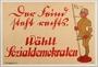 German Social Democratic Party anti-Nazi election poster