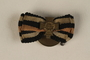 Honor Cross of the World War 1914/1918 non-combatant veteran service buttonhole ribbon bar awarded to a German Jewish soldier