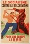 French collaborationist anti-Bolshevist propaganda poster