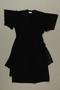 Black layered evening dress brought with a Polish Jewish emigre