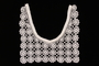 Woman's white crocheted dress collar brought with a Polish Jewish emigre