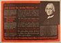 Antisemitic poster featuring supposed warnings about Jews from Benjamin Franklin
