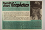 Nazi propaganda poster criticizing Franklin Roosevelt and American interventionist efforts